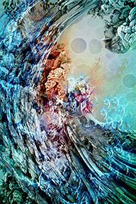 Bildkonst av waeke